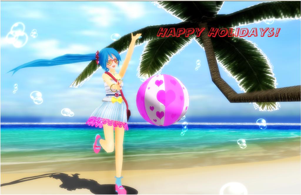 mmd happy holidays    links by manjapanuniverse on deviantart