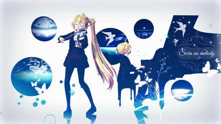 [MMD] Sora no melody -  wallpaper HD