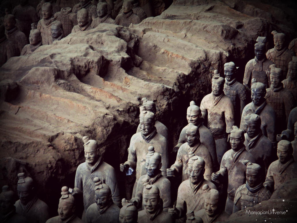 [CHINA TRIP 2015] The Burried army HD by ManjapanUniverse