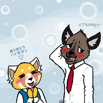 Aggretsuko : So cute by yammyqueen