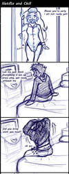 BnHA Comic: Netflix and Chill by yammyqueen