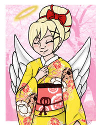 Request: Hanami Tenshi by yammyqueen