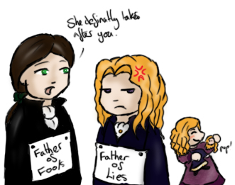 CS The Fathers of Claudia by yammyqueen