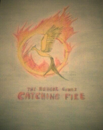 The Hunger Games : Catching Fire logo by chrissyh2015
