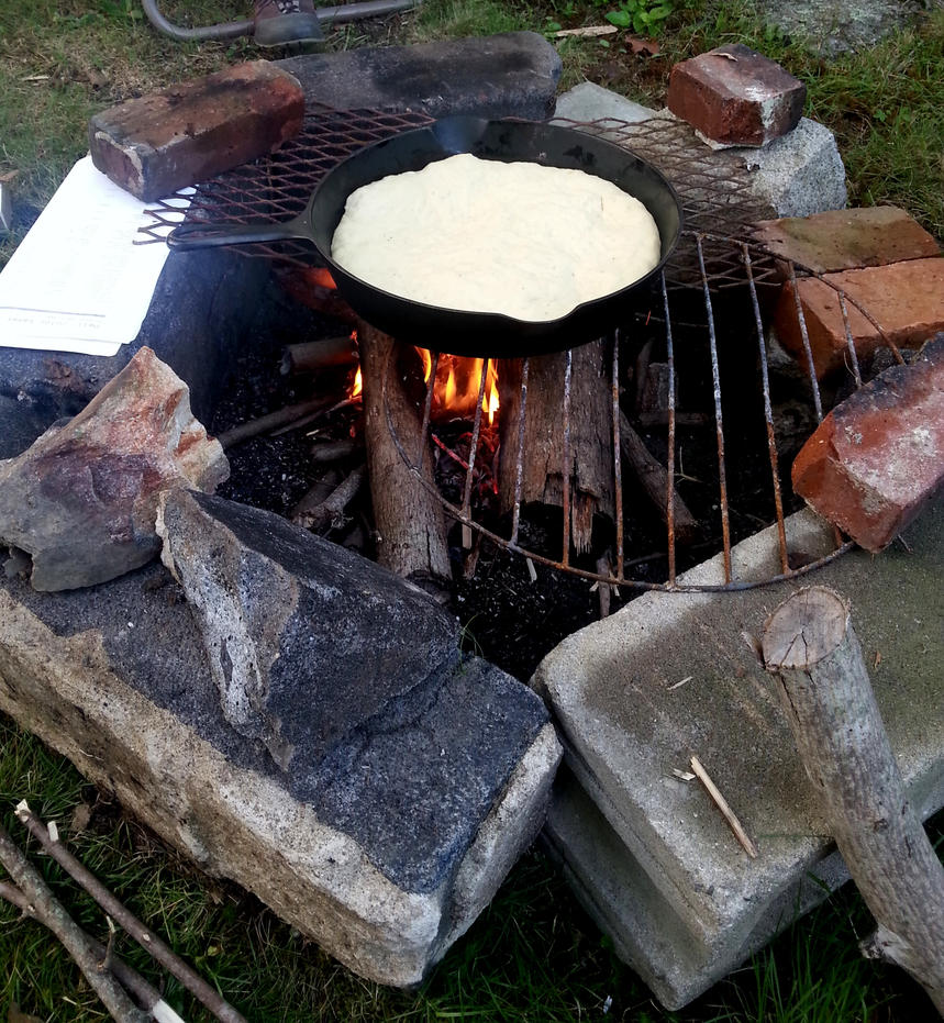 Pizza on the fire :) by Alitashope