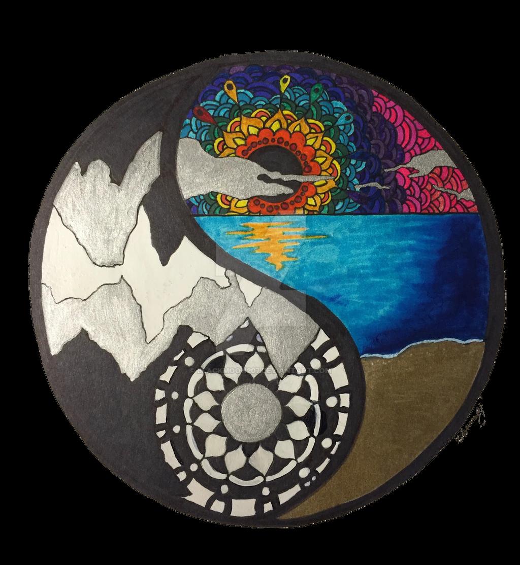 Yin Yang Mandala By Blackmoon207 On DeviantArt