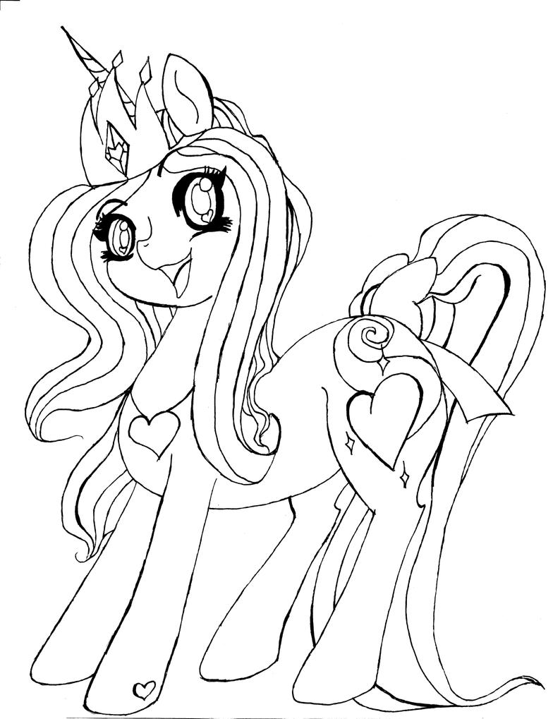 Line Drawing Rainbow : Rainbow princess rarity line art by misaspuppy on deviantart