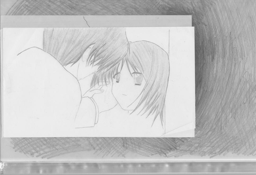 Anime Sketch 6 'boy And Girl'2