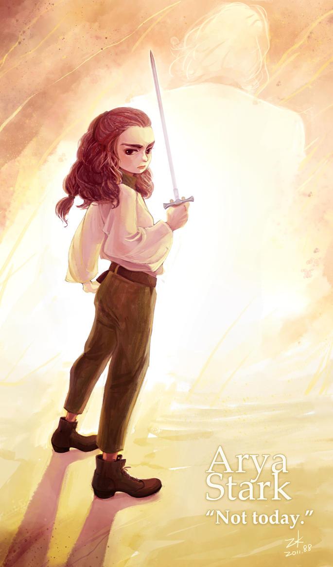 Arya Stark by Cocoz42