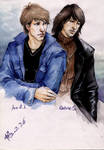 Jon Bon Jovi and Richie Sambora by Cocoz42
