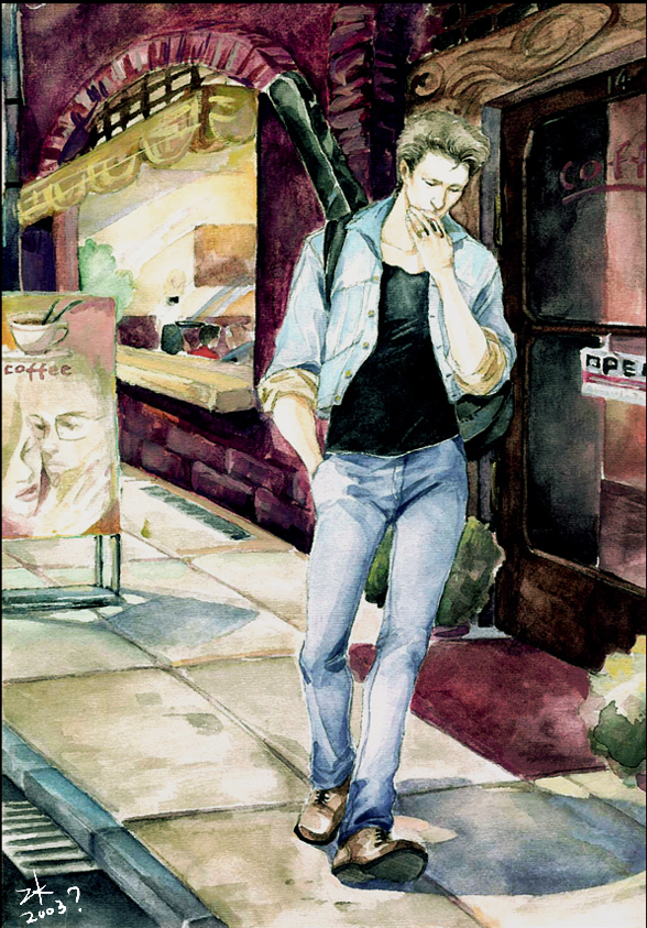 Jon Bon Jovi by darth-coco