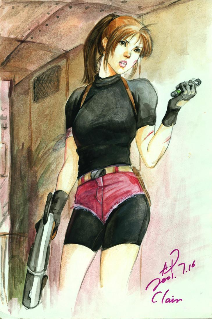 Original Claire From BiohazardII by Cocoz42