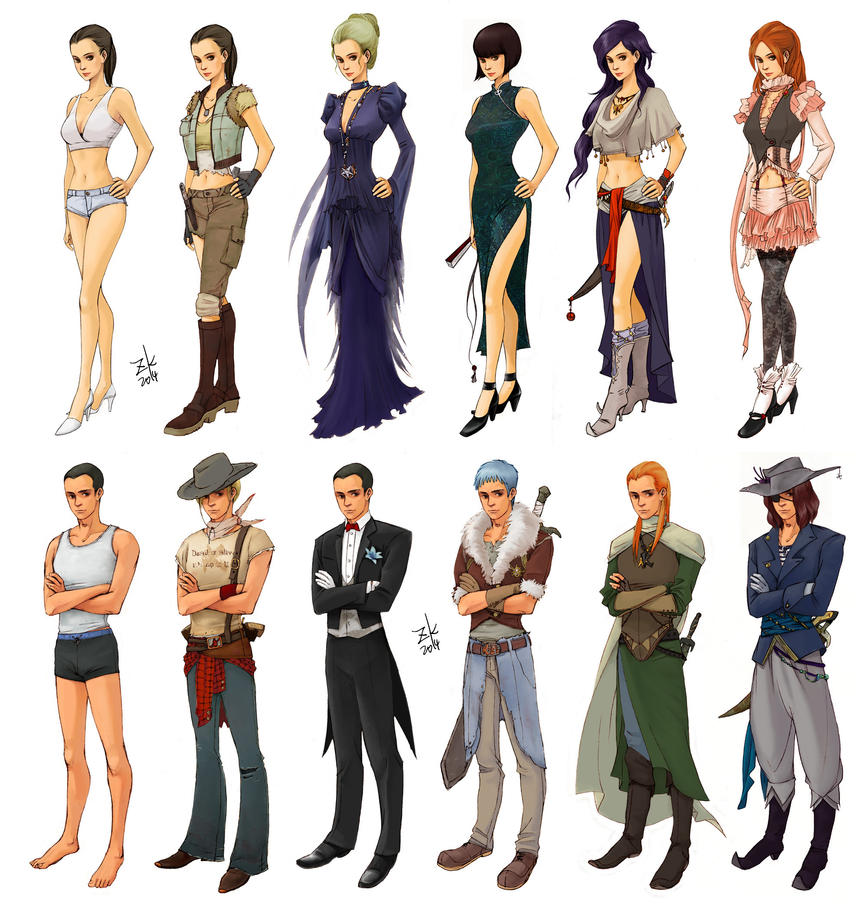 Game Design Character Classes : Card game character design by cocoz on deviantart
