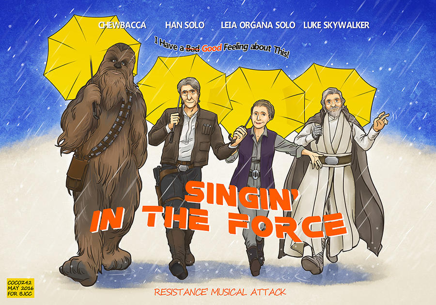 Singin' in the Force by Cocoz42