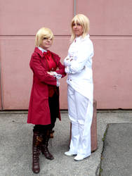 Alois and Druitt - We're just two guys. by SetsukiMeigetsu