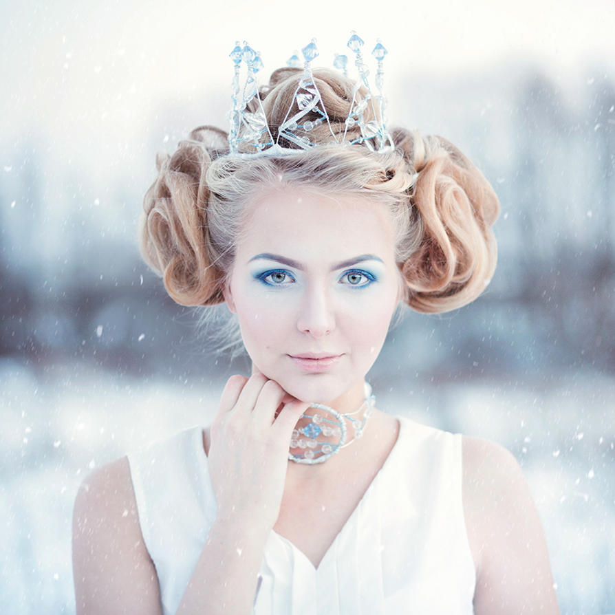 snow queen by alexandrovaarina
