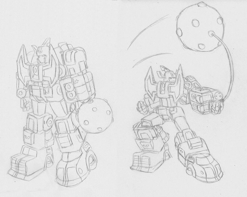 Transform-Oh, Wrecking Ball Attachment by Superrobofan