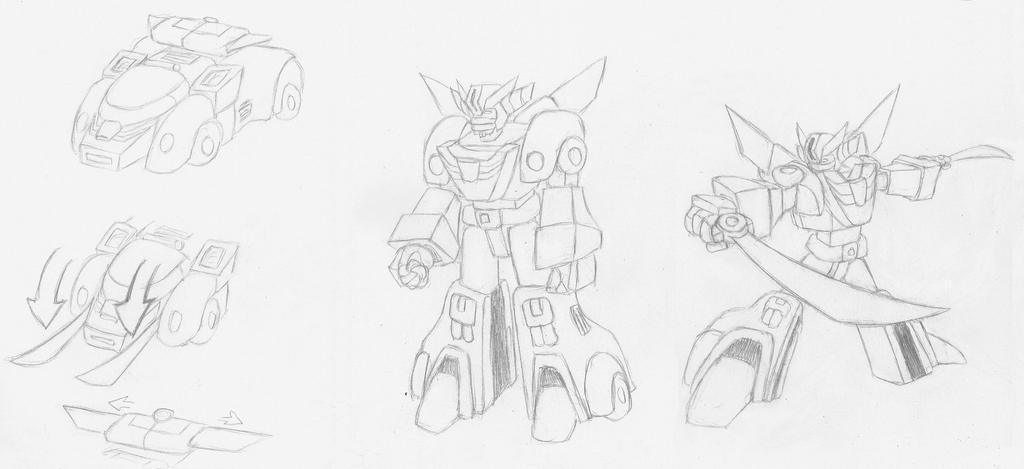 Wrecker Transformzord J-K by Superrobofan