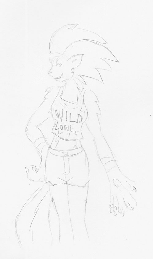 Werewolf Girl by Superrobofan