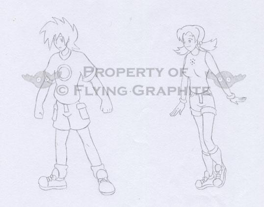 Guy and Girl by Superrobofan