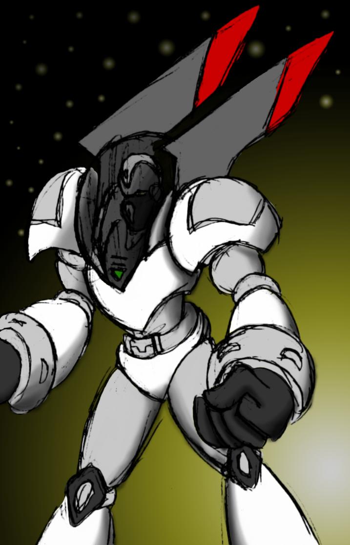 Future Bot, in Color by Superrobofan