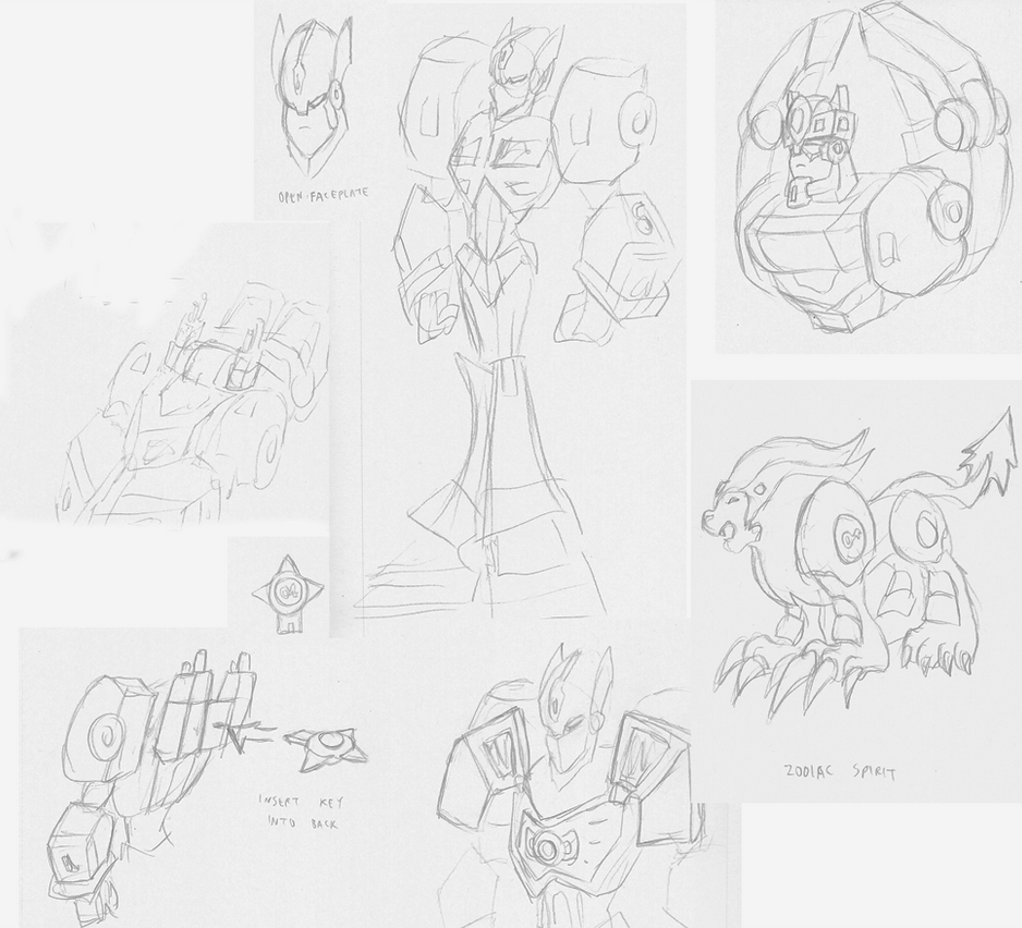 Zodiac Prime Sketches by Superrobofan
