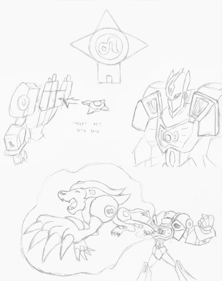 Zodiac Optimus: Leo Power! by Superrobofan