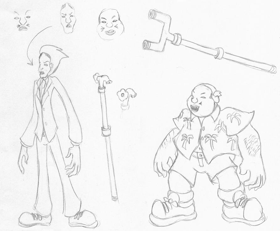 Genji Gami, Masked Men by Superrobofan