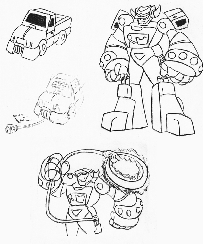 Transformers Zodaic: Ironhide by Superrobofan