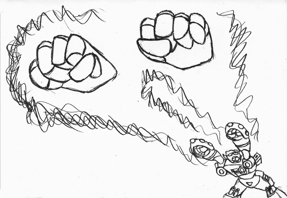 Transformers Zodaic: Ironhide, Taurus Knuckles by Superrobofan