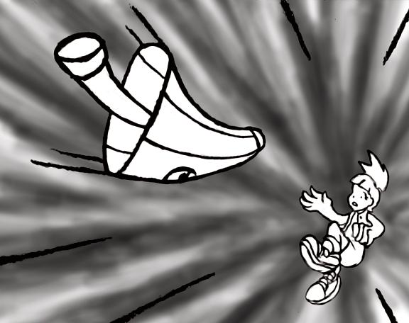 Genji Gami: Umbrella Rescue by Superrobofan