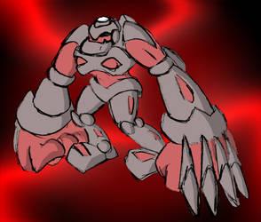Dark Ogre Zord by Superrobofan