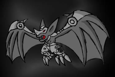 Dark Bat Zord by Superrobofan