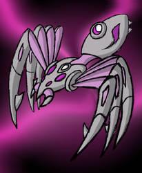 Dark Spider Zord by Superrobofan