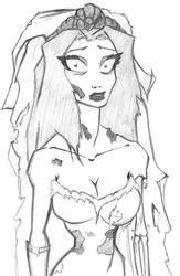 Corpse Bride by Xirmatul