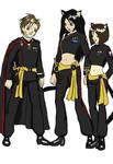 Imperial Starfleet Uniforms by hmsnike