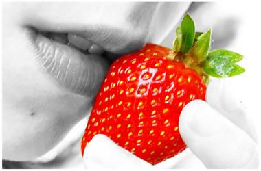 Strawberry Kiss by Wish-UponAStar