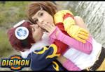 Daisuke+Hikari - Make me blush by Wish-UponAStar