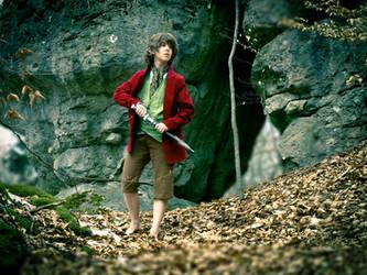 A brave little Hobbit by Wish-UponAStar