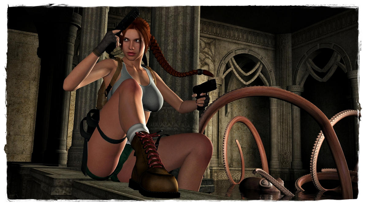 Lara croft 3d alien sexy videos