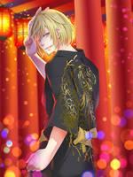 Kimono Yuratchka by rossomimi