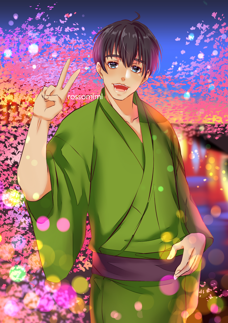 Kimono Phichit by rossomimi