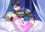 Sleeping Beauty AU: Yuri!!! ON ICE