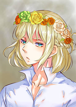 Yurio Flower Crown