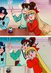 Screenshot Redraw: Sailor Moon