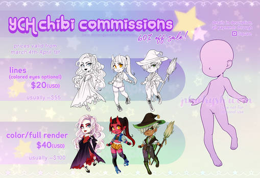YCH Chibi commissions