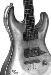 Guitar by MonicaHooda