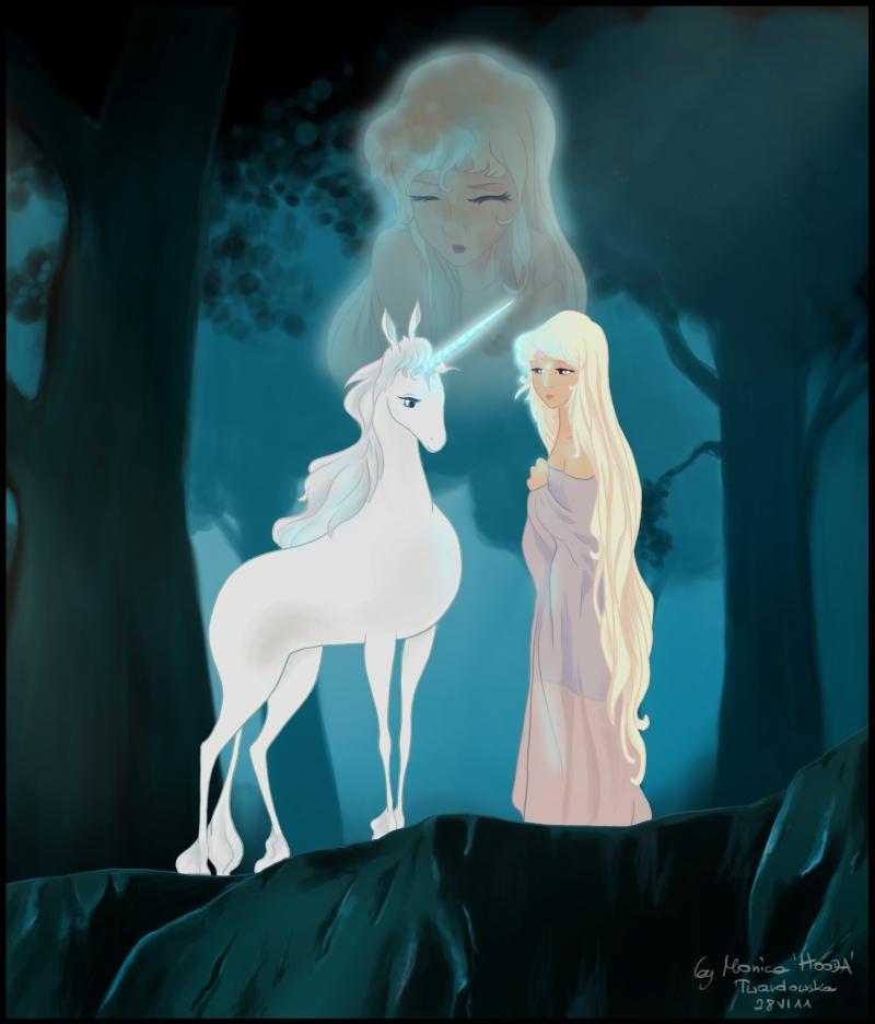 The Last Unicorn by MonicaHooda on DeviantArt