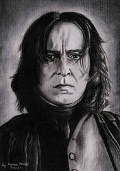 Severus Snape by MonicaHooda