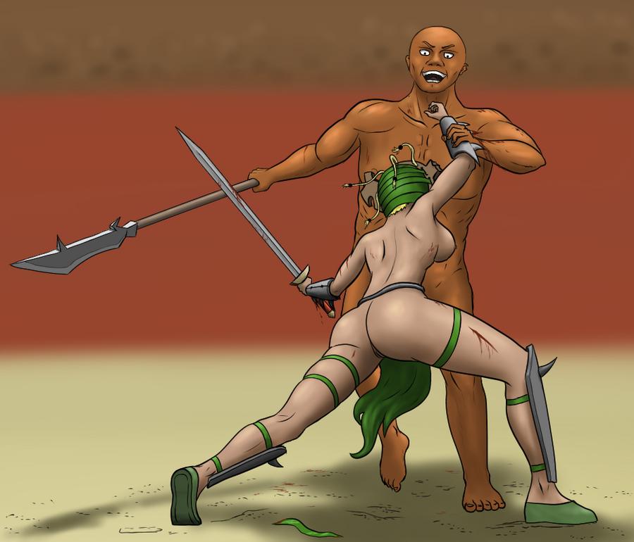Milly vs Rockus by Darksh1ne1